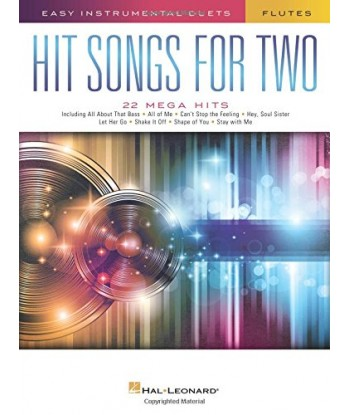 Hit Songs for Two Flutes...
