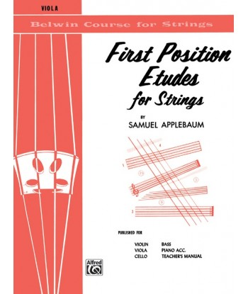 First Position Etudes for...