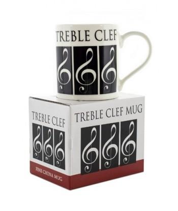 Little Snoring Treble Clef Mug