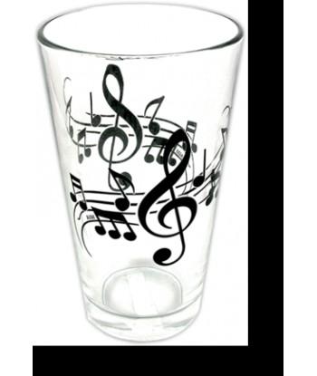 Transparent Music glass
