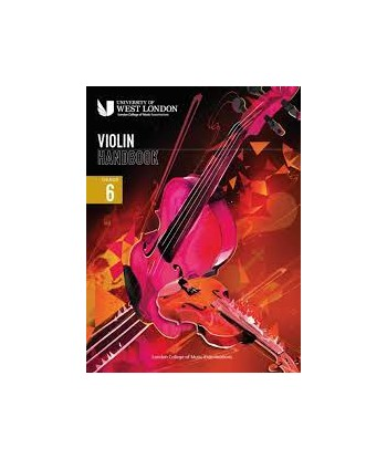 Violin Handbook  LCM Grade 6