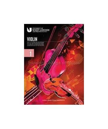 Violin Handbook  LCM Step1