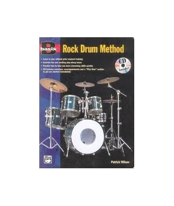 Basix Rock Drum Method CD...