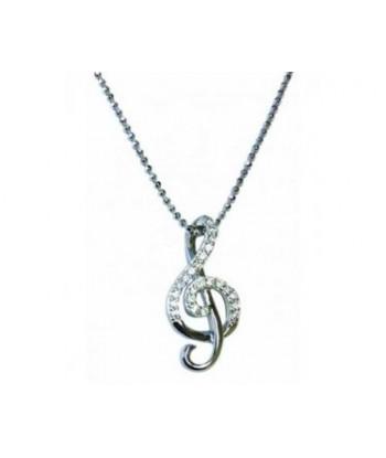 Sterling Silver Pendant -...
